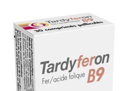 Tardyferon b9, comprimé pelliculé, boîte de 30