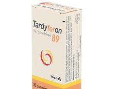 Tardyferon b9, comprimé pelliculé, étui de 30