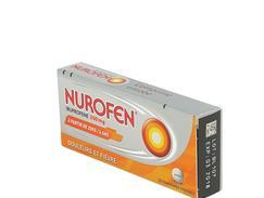 Nurofen 200 mg, comprimé enrobé, boîte de 20