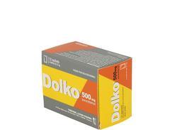 Dolko 500 mg, poudre pour solution buvable en sachet, sachets boîte de 12