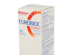 Eurobiol 25 000 u, gélule gastro-résistante, boîte de 1 flacon de 100