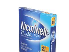 Nicotinell tts 21 mg/24 h, dispositif transdermique, boîte de 7