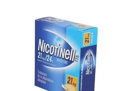 Nicotinell tts 21 mg/24 h, dispositif transdermique, boîte de 28