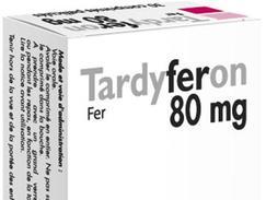 Tardyferon 80 mg, comprimé pelliculé, boîte de 30