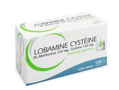 Lobamine cysteine, gélule, boîte de 12 plaquettes thermoformées de 10