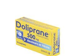 Doliprane 500 mg, comprimé, boîte de 16