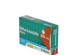 Nifuroxazide mylan 4%, suspension buvable, flacon (+cuillère