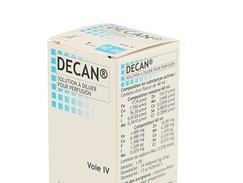 Decan, solution à diluer pour perfusion, boîte de 1 flacon de 40 ml