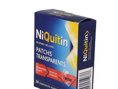 Niquitin 7 mg/24 heures, dispositif transdermique, boîte de 28