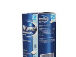 Nicotinell menthe fraicheur 2 mg sans sucre, gomme à mâcher médicamenteuse, boîte de 96