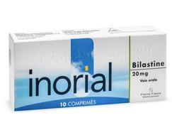 Inorial 20 mg, comprimé, boîte de 1 plaquette de 10
