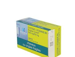 Cystine / vitamine b6 biogaran conseil 500 mg/50 mg, comprimé pelliculé, boîte de 120