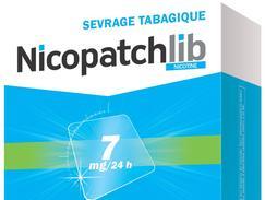 Nicopatchlib 7 mg/24 heures, dispositif transdermique, boîte de 28