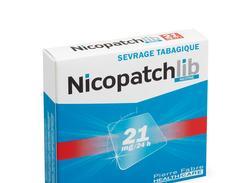 Nicopatchlib 21 mg/24 heures, dispositif transdermique, boîte de 7