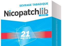 Nicopatchlib 21 mg/24 heures, dispositif transdermique, boîte de 28