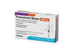 Fulvestrant mylan 250 mg, solution injectable en seringue préremplie, étui de 1 seringue préremplie avec aiguille de 5 ml