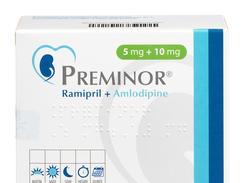 Preminor 5 mg/10 mg, gélule, boîte de 30