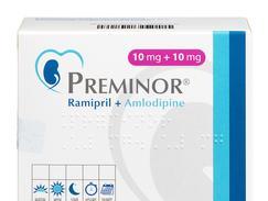 Preminor 10 mg/10 mg, gélule, boîte de 30