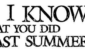 Souviens-toi... l'été dernier