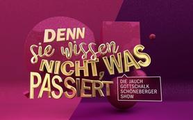 Denn sie wissen nicht, was passiert - Die Jauch-Gottschalk-Schöneberger-Show