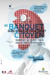 Banquet citoyen à Montmorency