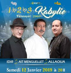 1 2 3 Kabylie