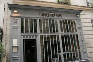 Restaurant Le Cinq Mars