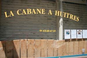 Restaurant La Cabane à Huîtres