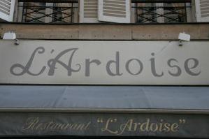 Restaurant L' Ardoise