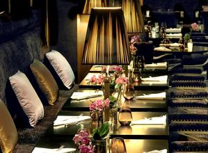 Restaurant Le First, restaurant boudoir paris