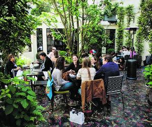 Restaurant Le Bien Venu à l'hôtel Bienvenue
