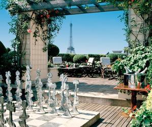 Restaurant Les Jardins Plein Ciel - Hôtel Raphaël