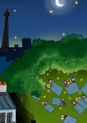 Paris à la belle étoile