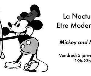 Une nuit avec Mickey