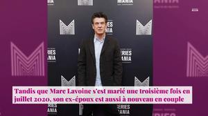 Non Stop People Marc Lavoine Et Line Papin Une Premiere Photo De Leur Mariage Devoilee