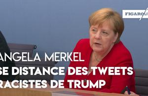 Pour Angela Merkel, Donald Trump a porté atteinte à «la grandeur de l'Amérique»