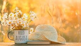 6 citations sur le mois d'août