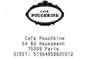 Lire la critique : Café Pouchkine