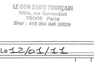 Lire la critique : Au Bon Saint-Pourçain