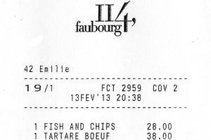 Lire la critique : 114 Faubourg