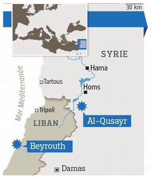 L armée syrienne gagne du terrain