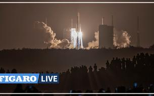 La Chine lance avec succès sa première mission pour ramener des roches lunaires