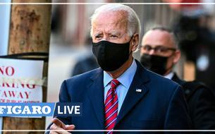 Joe Biden s'exprime brièvement sur son futur gouvernement