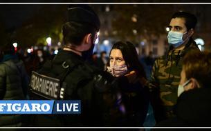 Un camp éphémère de migrants violemment démantelé en plein centre de Paris