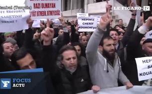 Moyen-Orient : journée de violentes manifestations contre Charlie Hebdo