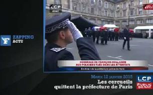 Hommage de la France aux policiers : les temps forts de la cérémonie