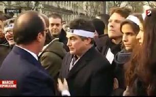 Le fou rire de Charlie Hebdo face à François Hollande