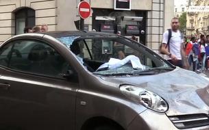 France-Croatie : des voitures endommagées à Paris pendant la finale de la coupe du monde