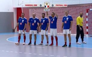 Foot-Hand : le match des légendes