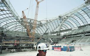 Coupe du monde en 2022 : le Qatar dans les temps pour son Mondial en plein désert